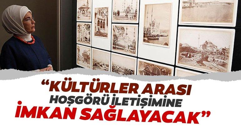 Emine Erdoğan, British Museum'da sergileri gezdi