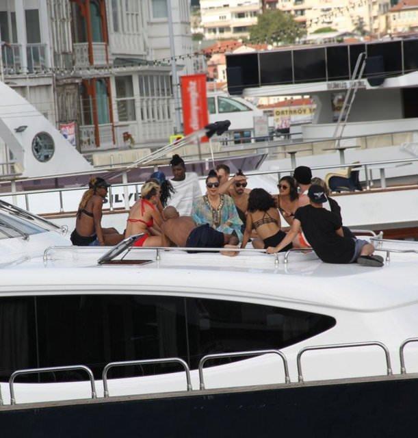Lady Gaga'nın Boğaz sefası