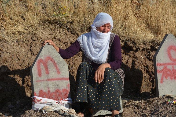 Katliam köyünde Ramazan Bayramı buruk geçti