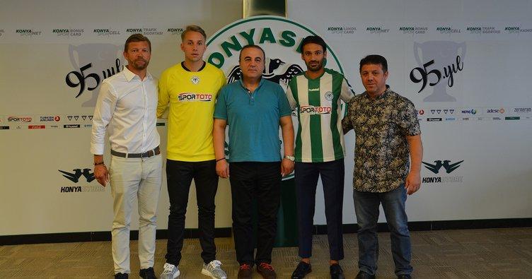 Savaş Polat ve Patrik Carlgren Konyaspor'da