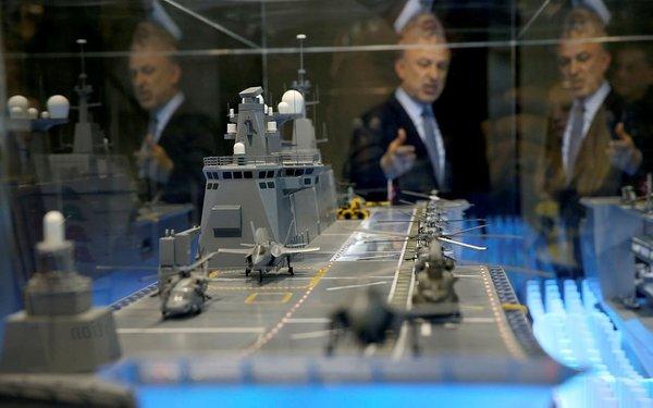 Türkiye'nin ilk milli uçak gemisi TCG Anadolu ilk kez görüntülendi