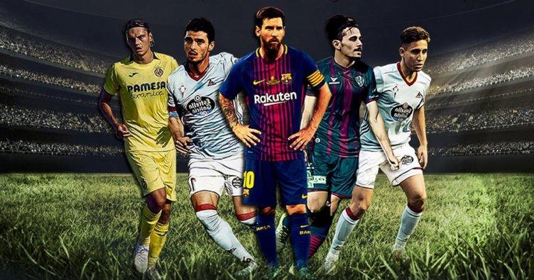 İspanya La Liga'da heyecan başlıyor