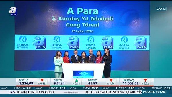 Borsa İstanbul'da gong A Para için çaldı!