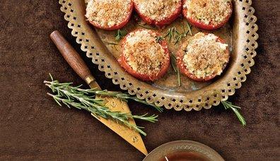 Fırında kıtır domatesler tarifi