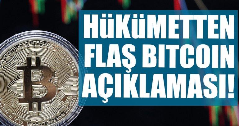Hükümetten flaş Bitcoin açıklaması