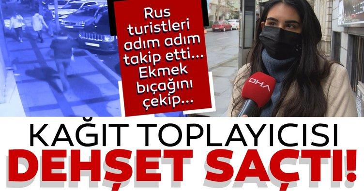 Son dakika: İstanbul'un göbeğinde korkunç olay: Kağıt toplayıcısı 3 kişiyi bıçakladı