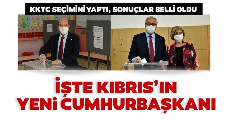KKTC seçim sonuçlarından son dakika haberi: Kuzey Kıbrıs Türk Cumhuriyeti seçimini yaptı, KKTC'nin yeni Cumhurbaşkanı Ersin Tatar oldu!
