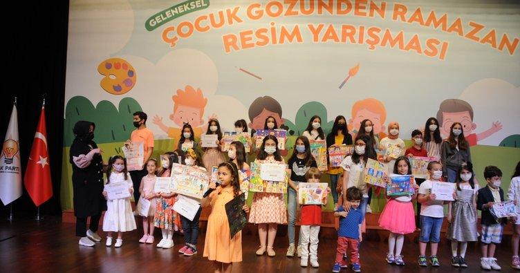 Çocuklar özlenen Ramazan'ı resmettiler