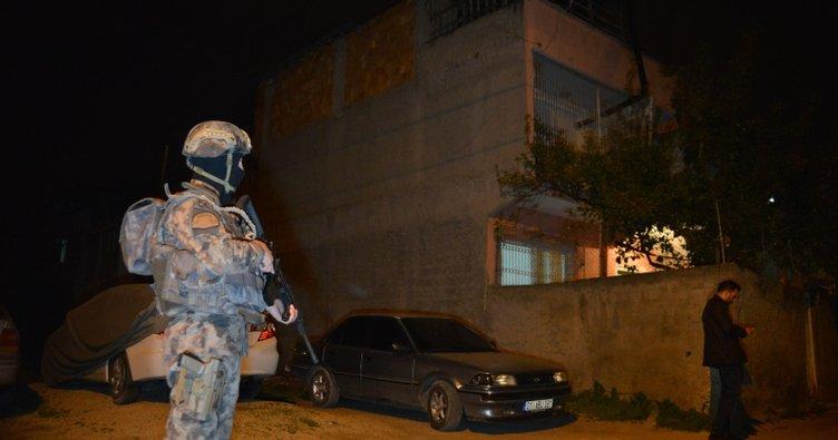Cinayet zanlısı, özel harekat destekli operasyonla yakalandı