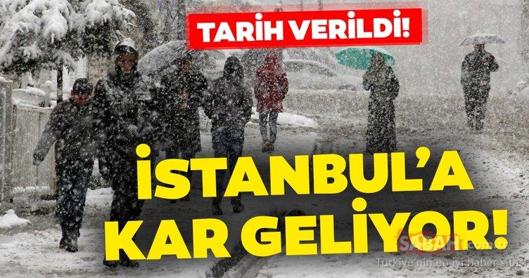 SON DAKİKA! İstanbul için flaş kar yağışı uyarısı geldi! Kandilli tarafından tarih verildi