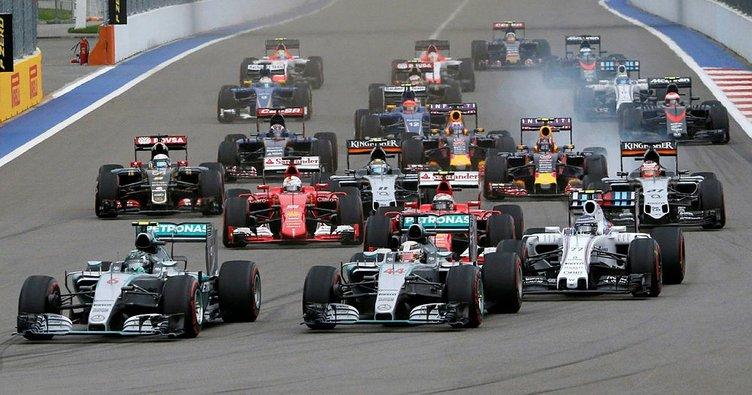 Formula 1'in 2018 takvimi belli oldu