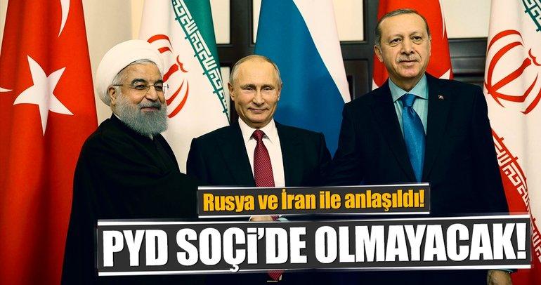 Son Dakika Haberi: PYD Soçi'de olmayacak!