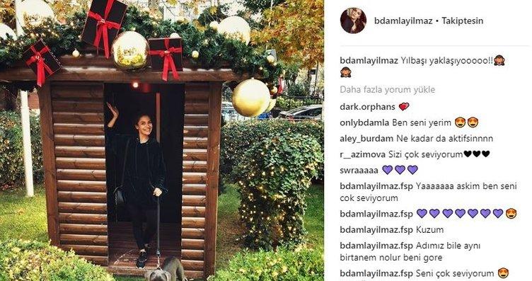 Ünlülerin Instagram paylaşımları (19.11.2017)