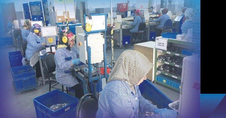 4.0 fabrikalar kadın çalışana fırsat oldu