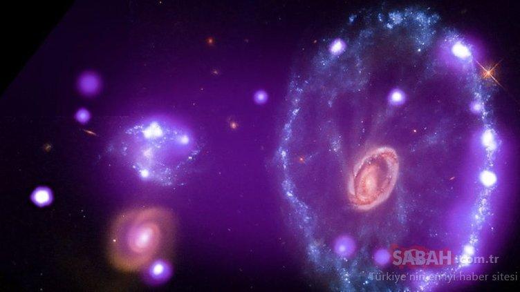 Uzayın derinliklerinden geldi! NASA'nın paylaştığı görüntüler şaşkına çevirdi!