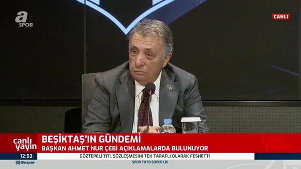 Ahmet Nur Çebi'den Mustafa Cengiz'e hakem cevabı!