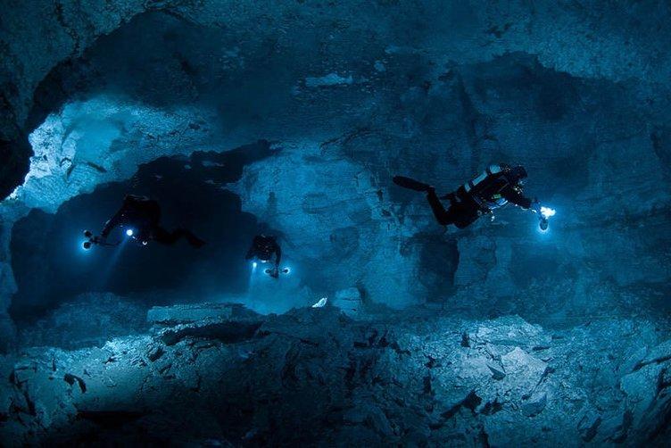 Dünyanın en uzun kristal sualtı mağarası