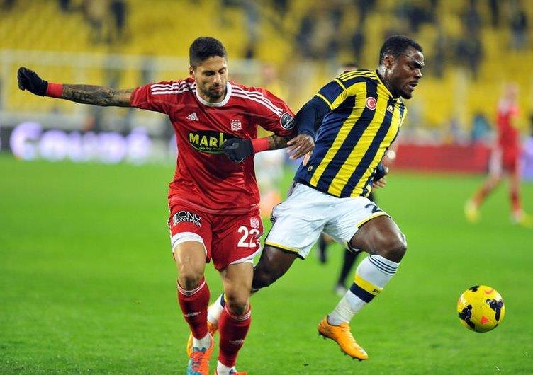 Fenerbahçe - Sivasspor maçının fotoğrafları