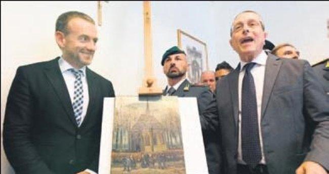 Çalınan Van Gogh'lar İtalyan mafyasında...