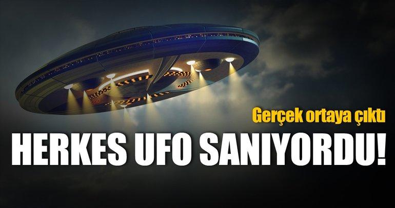 Kurtarma helikopterinin yakınından geçen UFO'ların sırrı çözüldü!