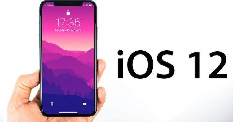 Apple iOS 12 Güncellemesi