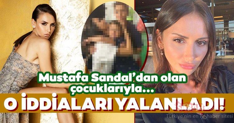 Mustafa Sandal'ın eski eşi Emina Jahovic hakkındaki iddialara cevap verdi! Emina Jahovic çocukları Yaman Sandal ve Yavuz Sandal ile...