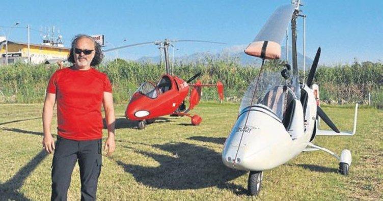 Denizli'de hava taksi başlıyor