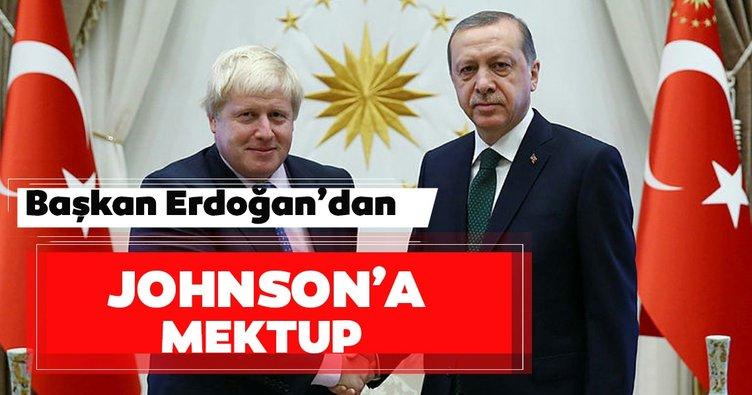 Son dakika: Erdoğan'dan Johnson'a mektup