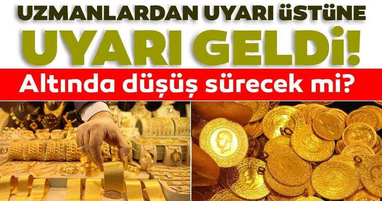 SON DAKİKA! Altın fiyatları hareketlendi! Uzmanlardan uyarı üstüne uyarı geldi: Altın fiyatları düşecek mi yükselecek mi?