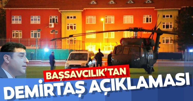 Edirne Cumhuriyet Başsavcılığından Selahattin Demirtaş açıklaması