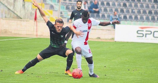 Horoz'da futbol iyi, sonuç kötü