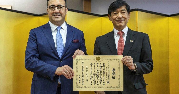 THY Yönetim Kurulu Başkanı Aycı, Japonya Büyükelçilik Ödülü aldı