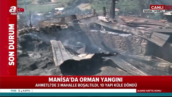 Son Dakika: Bakan Pakdemirli'den Manisa ve Aydın'da çıkan orman yangınları hakkında flaş açıklama | Video