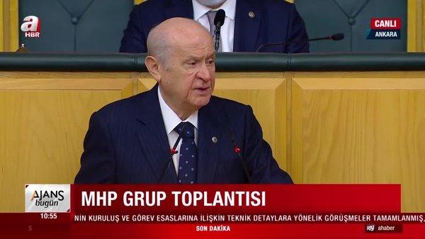 SON DAKİKA! MHP Lideri Devlet Bahçeli'den CHP'ye sert tepki
