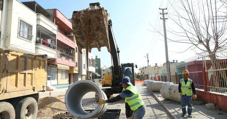 Çilek Mahallesi'nin alt yapı sorunu ortadan kalkıyor