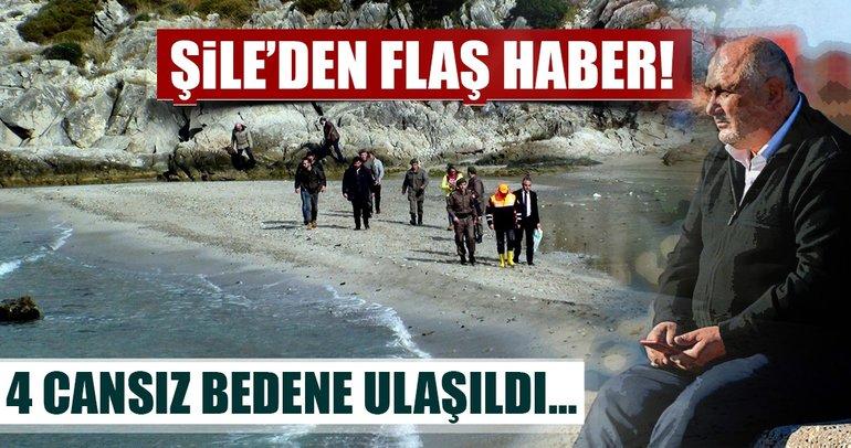 Şile'de batan gemiden 4 cansız beden çıkarıldı
