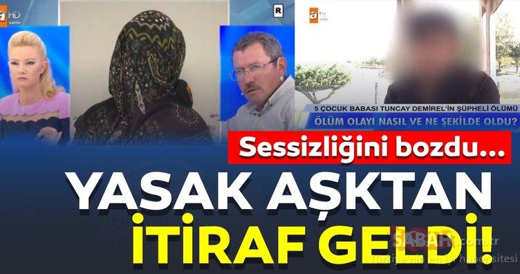 Yasak aşk skandalında son dakika gelişmesi! Nazife Demirel'in yasak aşkı itiraf etti!