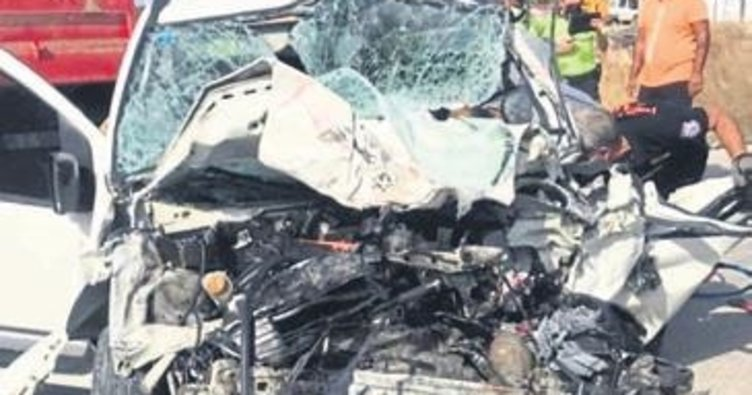 Çeşme'de feci kaza: 1 kişi öldü