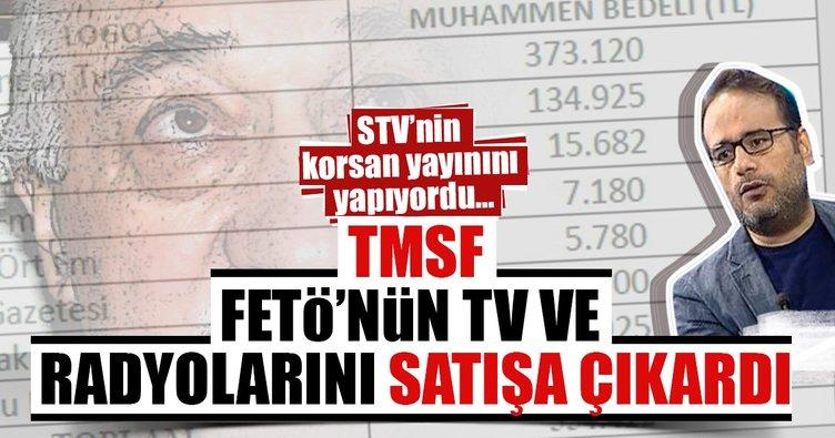 TMSF FETÖ'nün TV ve radyolarını satışa çıkardı
