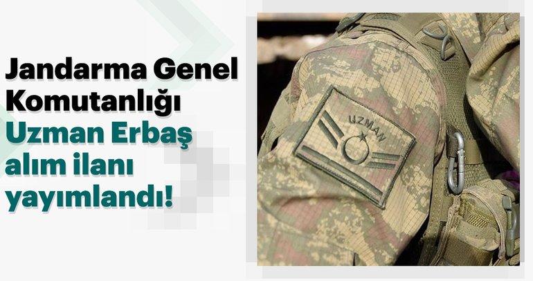 Jandarma Genel Komutanlığı Uzman Erbaş alım ilanı yayımlandı