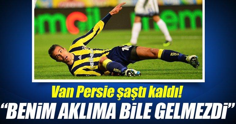 Van Persie, Sow'un golüne şaştı kaldı!
