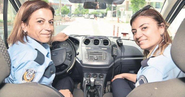 Ekipte kadın polis farkı