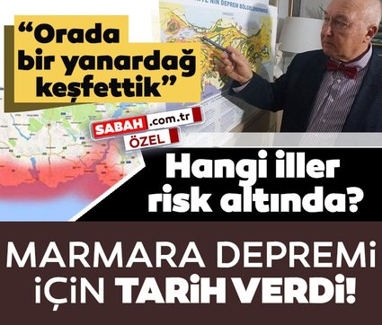 Prof. Dr. Övgün Ahmet Ercan'dan son dakika deprem açıklaması: Marmara depremi için tarih verdi, o illeri uyardı!