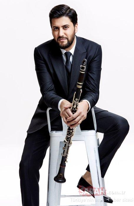 Ünlü klarnet virtüözü Serkan Çağrı sıra dışı bir performansa imza attı! Mavi vatan onu dinledi!