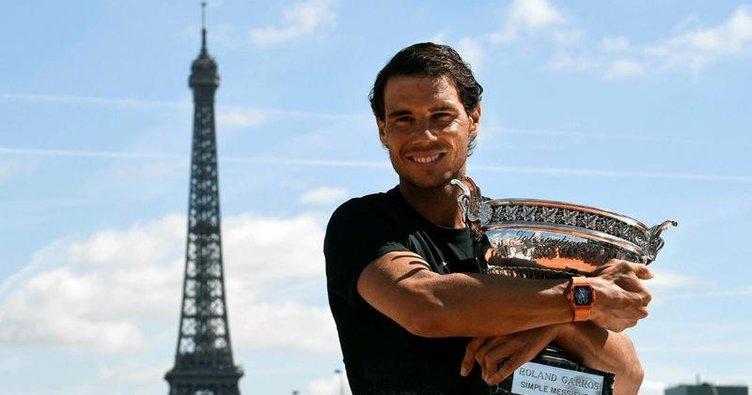 Rafael Nadal gözünü zirveye dikti