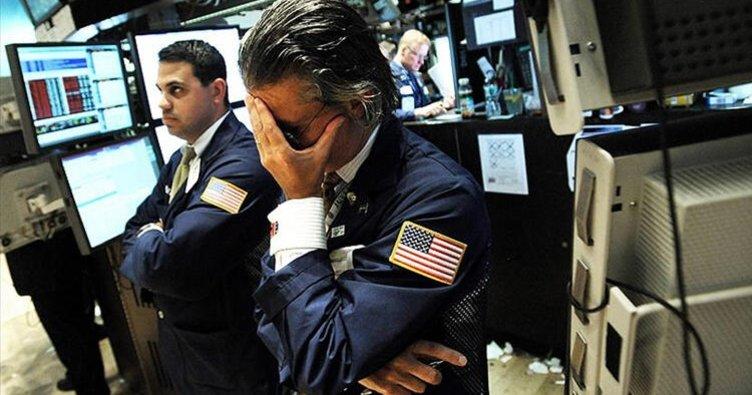 Rekor daralma sonrası New York borsası düşüşle açıldı
