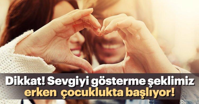 Dikkat! Sevgiyi gösterme şeklimiz erken  çocuklukta başlıyor