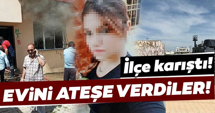 Bir ilçeyi ayağa kaldıran cinayet! Katilin evini ateşe verdiler...