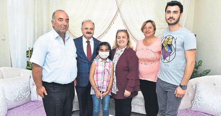 Yılın en iyi babası Mersinli Mustafa