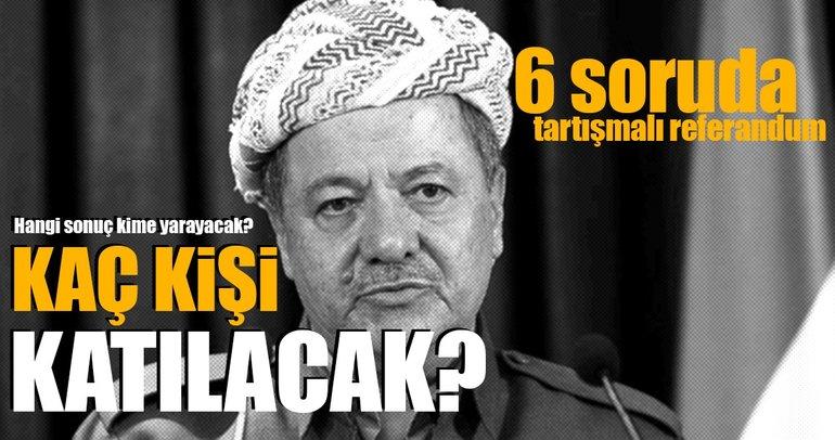 Tartışmalı 'Barzani' referandumunun ayrıntıları!